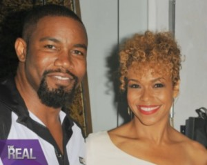 michael-jai-white-fiancee-wife-Gillian-Iliana-Waters-pics