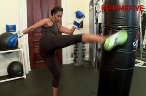 michelleobama-kick-boxing-video-working-out