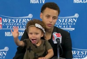 steph-curry-daughter-press-conference-video