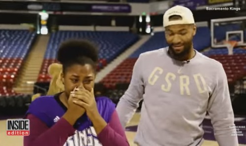 demarcus-cousins-suprises-family-new-car