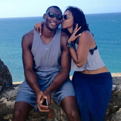Bismack-Biyombo-Girlfriend-Ana-Ledesma-pictures
