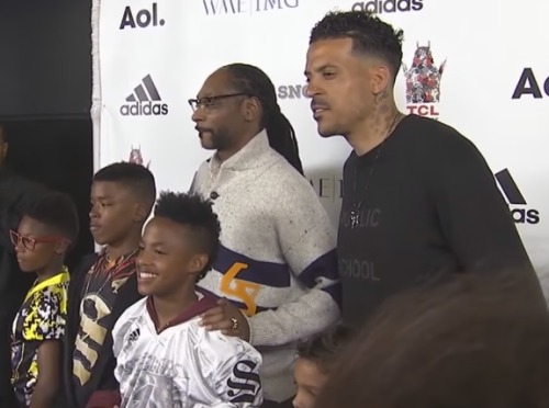 snoop-dogg-matt-barnes-youth-football-coach