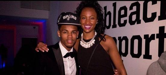 "NBA Rookie Dejounte Murray Introduces His ""Love & Basketball"" Romance With Girlfriend Quinessa Caylao-Do! (Video)"