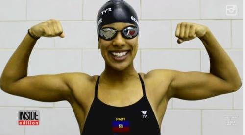 First_Female_Olympic_Swimmer_For_Haiti-Naomy_Grand'Pierre_-