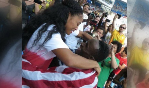 Will-Claye-Proposes-girlfriend-fiance-Queen-Harrison-2016-olympics-video