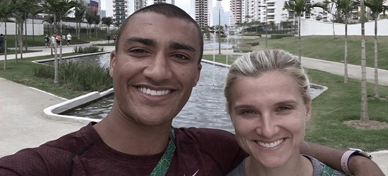 Ashton Eaton And Wife Brianne Theisen-Eaton Share Their Love Story (Video)
