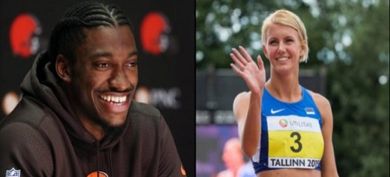 Robert Griffin III Officially Goes Public With New Girlfriend Grete Sadeiko While Going Through Divorce From Wife! (Photos)