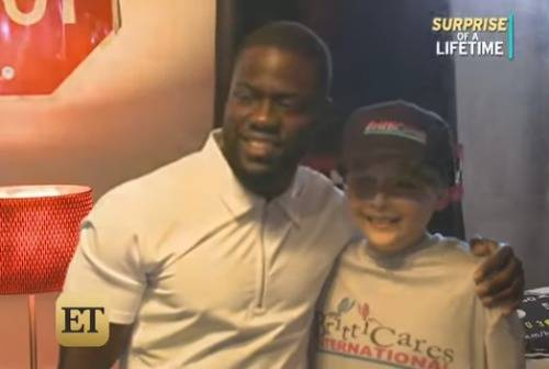 Kevin Hart Provides Dream Bedroom Makeover For Boy Battling Leukemia! (Video)
