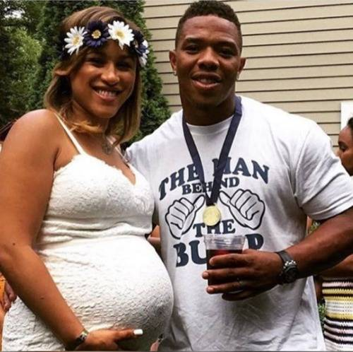ray-rice-wife-janay-pregnant-pics-