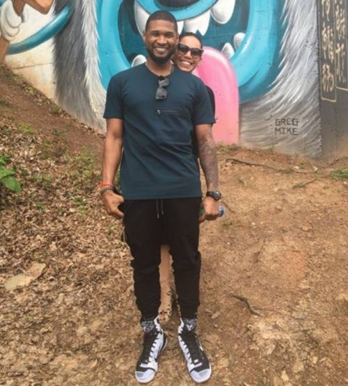 usher-raymond-wife-grace-miguel-pics-photos-