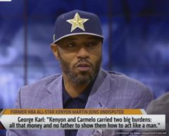 "Kenyon Martin: ""George Karl Disrespected My Mother With His Comments! (Video)"