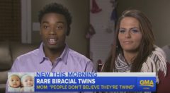 "#Trending News – Parents Of Biracial Twin Baby Sisters With Different Skin Tones Speak Out: ""People Don't Think They're Twins!"" (Video)"