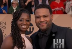 Anthony Anderson Reunites With Wife Alvina Stewart! (Video)
