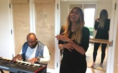 "Watch: Pregnant Ciara Wilson Sings A Rendition Of  Diana Ross' ""I'm Coming Out!"" (Video)"