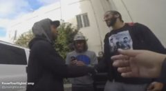 Keeping His Word: Colin Kaepernick Hands Out Clothes And Shoes To The Less Fortunate (Video)