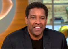 "Denzel Washington Talks New Movie ""Fences,"" Directing And Family Life. (Video)"