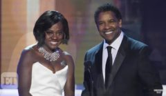 Denzel Washington Talks Winning His First SAG Award And Praises Viola Davis On Her Talent! (Video)