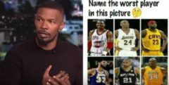 Do You Agree? Jamie Foxx Doesn't Believe Kobe Bryant Is Top 5 Of All Time!(Video)