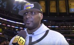 Good News: Lamar Odom Released From Rehab After One Month And 'Doing Great'! (Video)