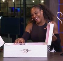 Michael Jordan Surprises Serena Williams With Some Custom Jordans For Her 23rd Grand Slam Win! (Video)
