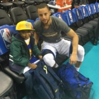 Watch: Boy With Brain Cancer Gets His Dying Wish Of Meeting Steph Curry! (Video)