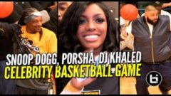 Watch: DJ Khaled, Snoop Dogg, Ja Rule, Porsha Williams And More Hoop It Up At The Celebrity Basketball Game In Houston (Video)
