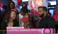 Surprise Proposal: Detroit Man Pops The Big Question To His College Sweetheart With A Sweet Engagement Party! (Video)