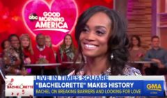 Rachel Lindsay Speaks On Being ABC's First African-American 'Bachelorette' In The Show's Franchise History! (Video)