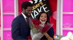 Sheinelle Jones' Husband Uche Ojeh Surprises Her With Roses On The TODAY Show! (Video)