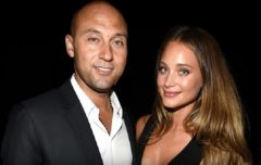 Derek Jeter's Wife Hannah Speaks On Her Pregnancy, Weird Food Cravings, Baby Names And More. (Video)