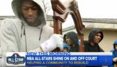 NBA Stars Help Repair Tornado Damage In New Orleans During 2017 All-Star Game Weekend!