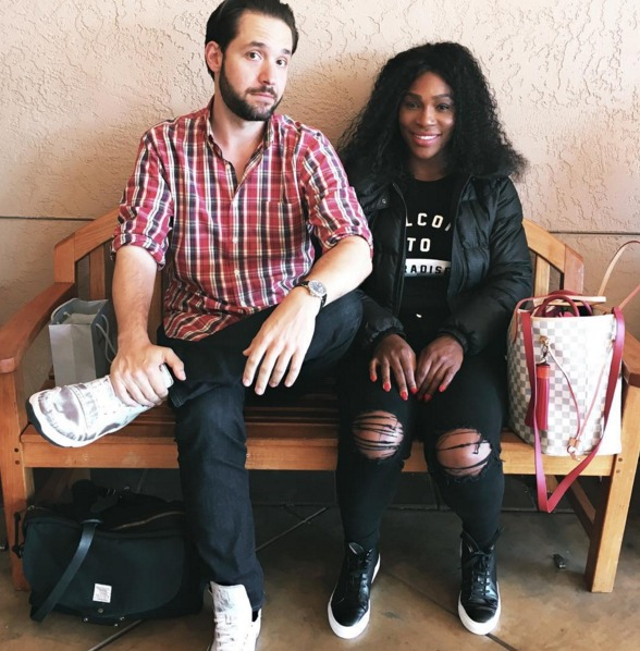 Serena williams dating alexis ohanian 8