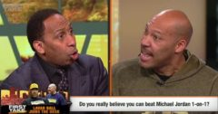 Stephen A. Smith Debates LaVar Ball On His Insensitive Comments He Made About Lebron's Son, Michael Jordan & More! (Watch)