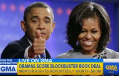 Wow: The Obamas Land 60 Million Blockbuster Book Deal! (Video)