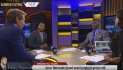 Real Talk: Cris Carter, Shannon Sharpe & Skip Bayless Weigh In On Aaron Hernandez's Suicide Death! (Video)
