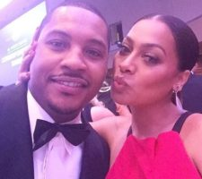 Oh No: La La and Carmelo Anthony Reportedly Separate After 6 Years Of Marriage! (Video)