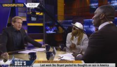 Real Talk: Lil Wayne Visits Shannon Sharpe & Skip Bayless To Respond To Dez Bryant's Post On Race In America! (Video)