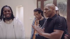 Mike Tyson Takes Rappers Migos On A Tour Of His Vegas Mansion! (Video)