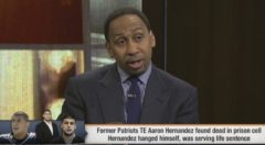 "Stephen A. Smith Speaks On Aaron Hernandez's Death: ""I Have No Sympathy For Him!"" (Video)"