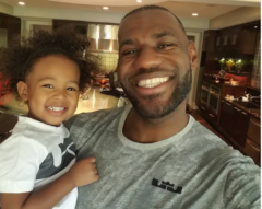 LeBron James Speaks On How Spending Time With His Family Keeps Him Grounded Between Playoff Games! (Video)