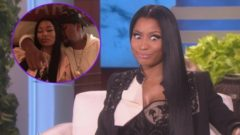 Nicki Minaj Responds To Rapper Nas Dating Rumors: 'We've Had 'Sleepovers!' (Video)