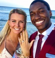 Congratulations: Robert Griffin III Gets Engaged To His Pregnant Girlfriend Grete Sadeiko After Just Finalizing His Divorce With Ex-Wife! (Photos)!