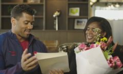 Watch: Russell Wilson Reads Emotional Mother's Day Letter To His Mom  — Not Knowing She Was Secretly Watching & Listening! (Video)