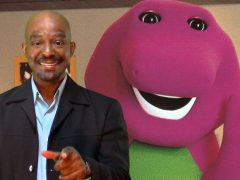 Meet David Joyner, The Man Who Played Barney The Purple Dinosaur For 10 Years. (Video)