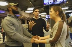 Watch: NFL Player Samaje Perine Uses A Magician To Help Him Magically Propose To His Girlfriend Meg Haney (Video)