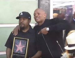 Congratulations: Ice Cube Receives A Star On The Hollywood Walk Of Fame! (Video)