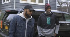 Kyrie Irving Secretly Remodels His Father Drederick's First Home In West Orange, New Jersey! (Video)
