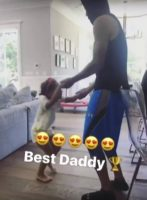 Watch: NBA Star Steph Curry Dances With His Two Daughters Riley And Ryan Before Game 2 Of The 2017 NBA Finals! (Video)