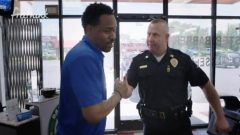 Cops And Barbers: White Cop And Black Barber Team Up To Bring Peace To Their City! (Video)