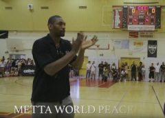 NBA Star Trevor Ariza And Metta World Peace Host 3rd Annual Ariza Elevated Game & Awards! (Video)